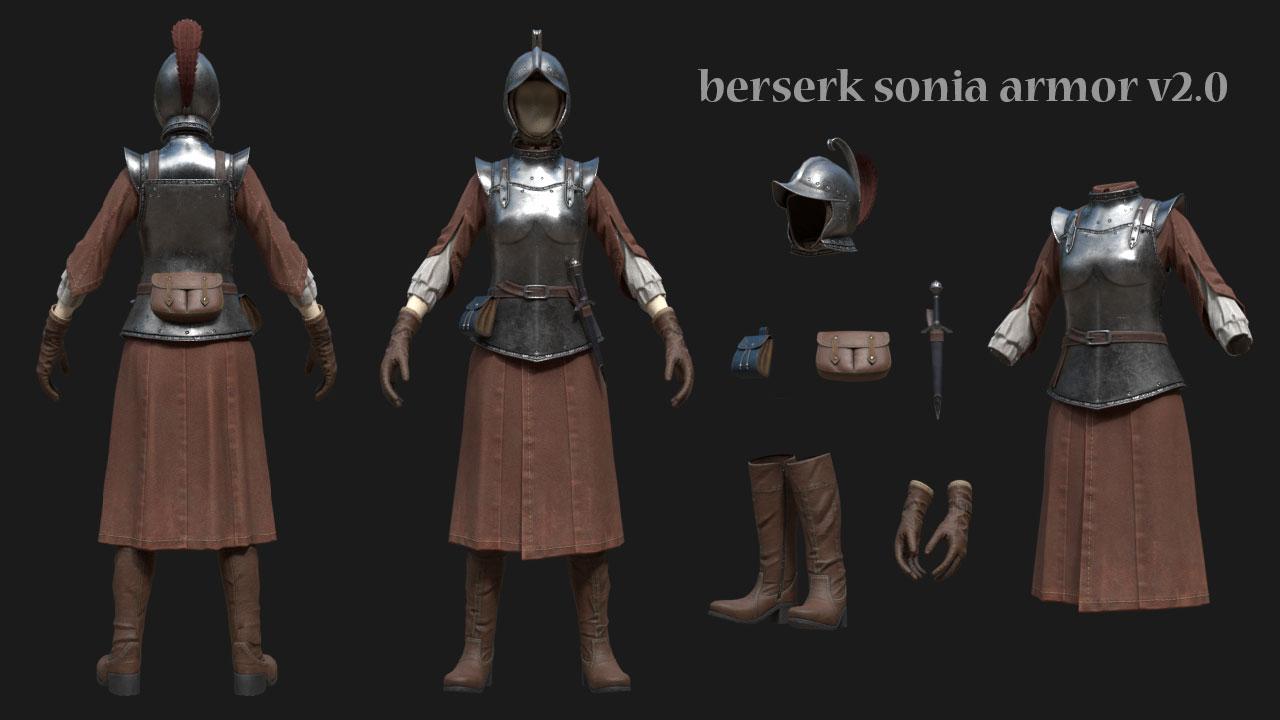 Berserk Sonia Armor