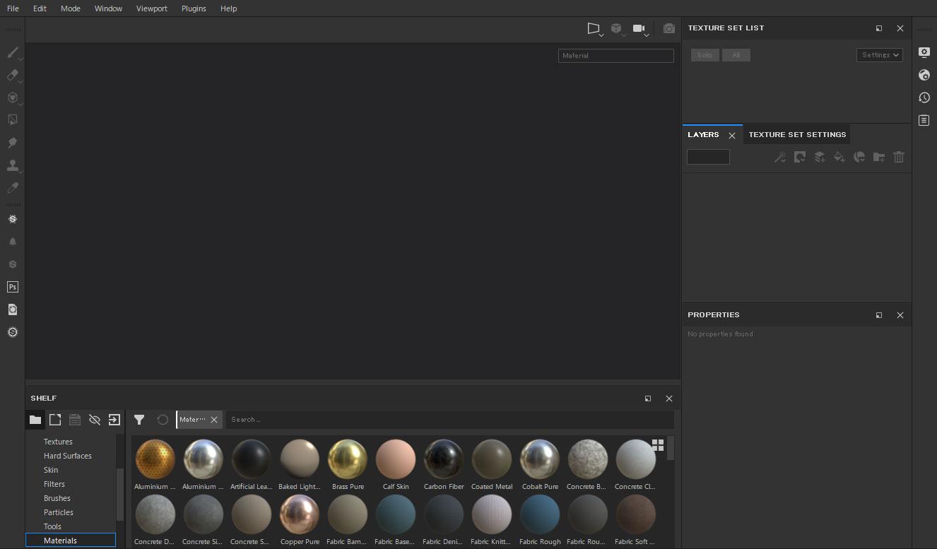Substance Painter Reset UI