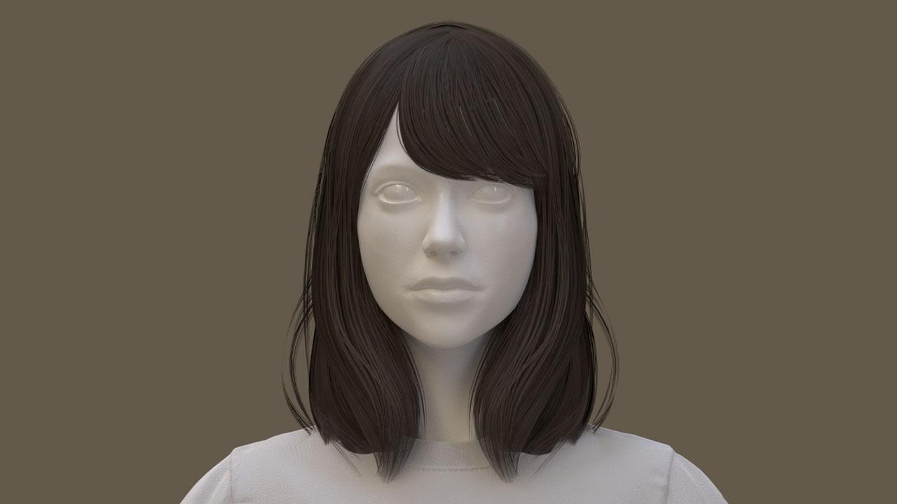 blender hair