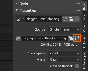 reload image texture