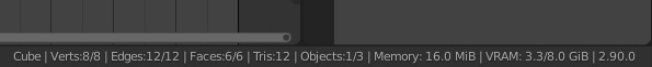 blender vertex count