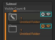 ZBrush folder