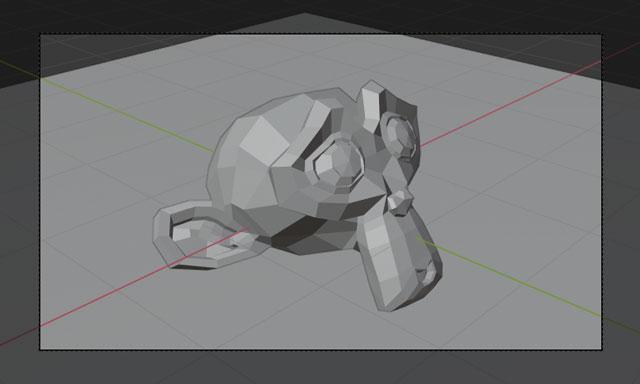 blender active camera