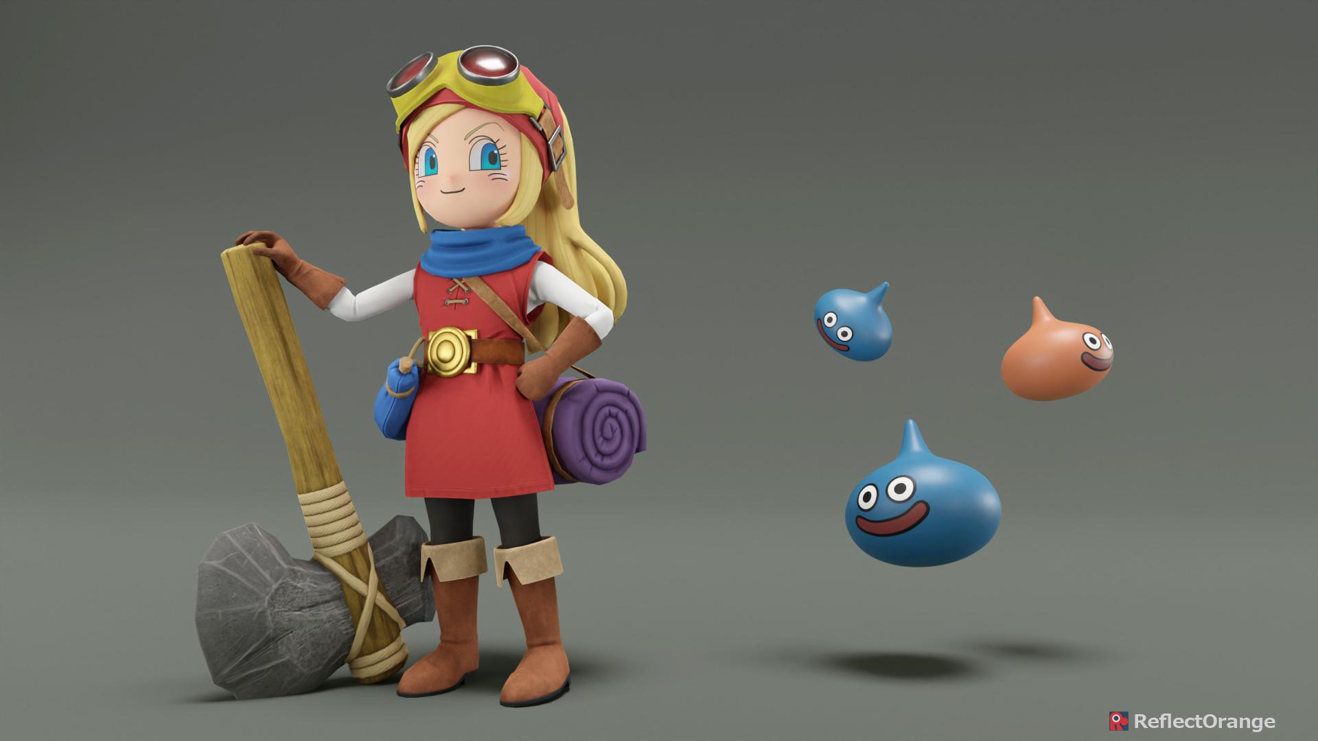 Heroine - Dragon Quest Builders