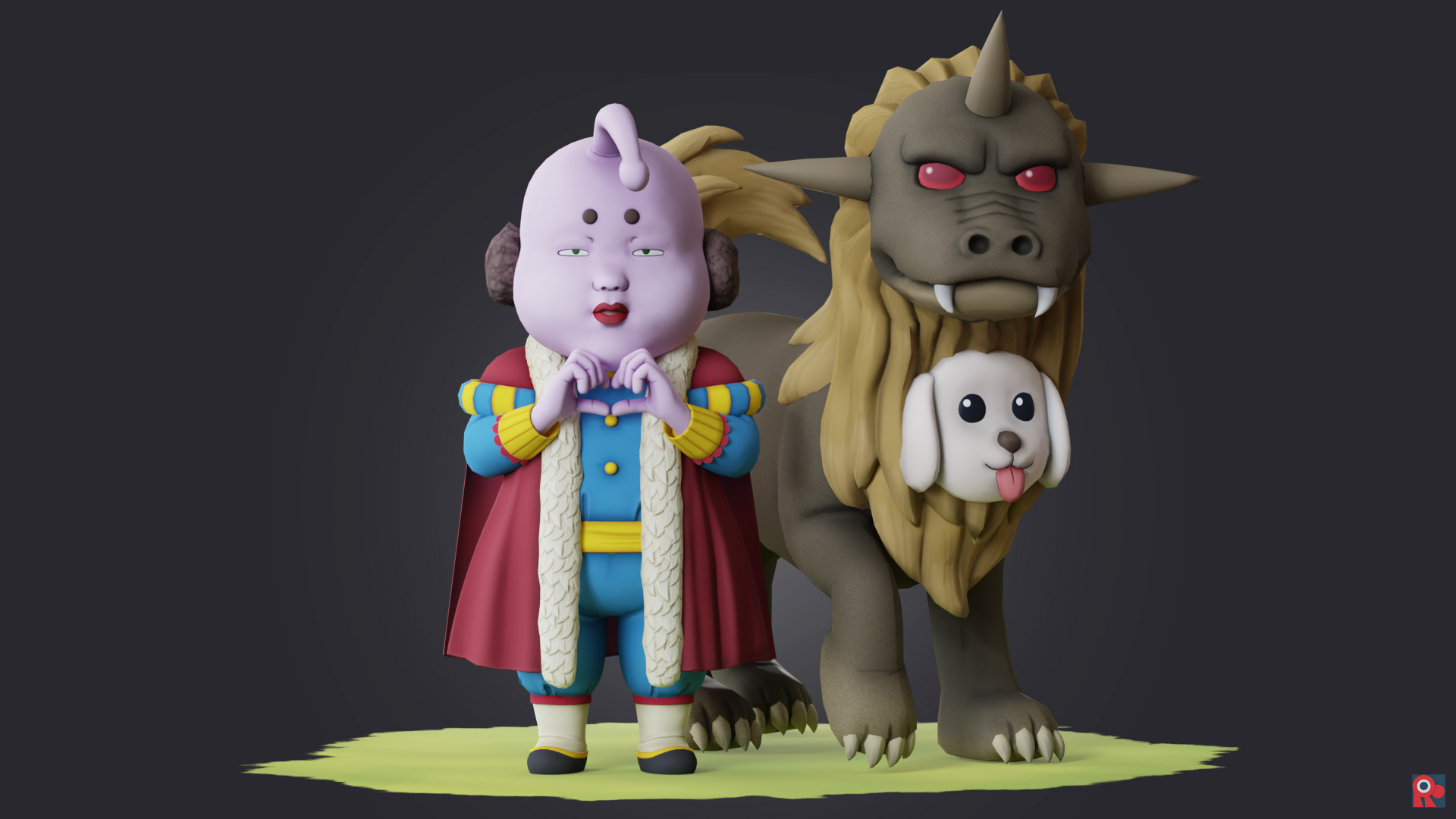 Prince Hata and Pochi